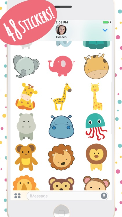 Super Cute Baby Animals Stickers