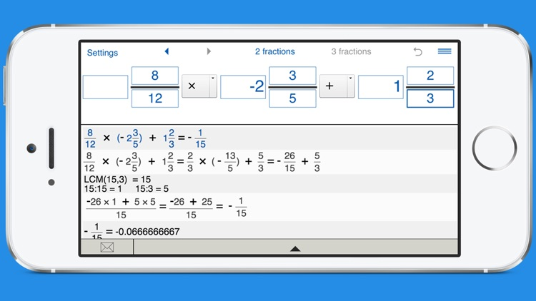 Fraction calculator with steps screenshot-4