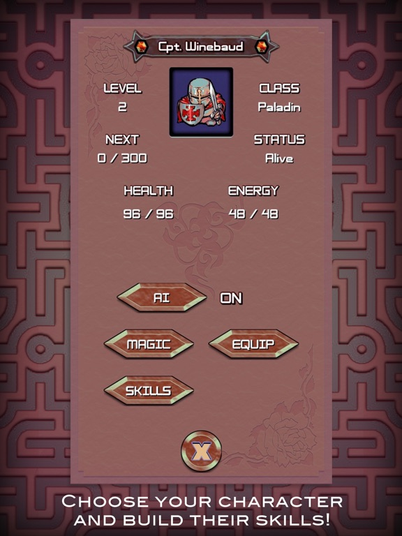Screenshot #1 for MazeQuest - An Adventure RPG