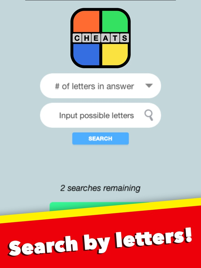 Cheats For 4 Pics 1 Word All Answers Free On The App Store