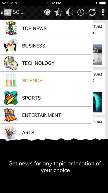 NewsHog : News and Weather