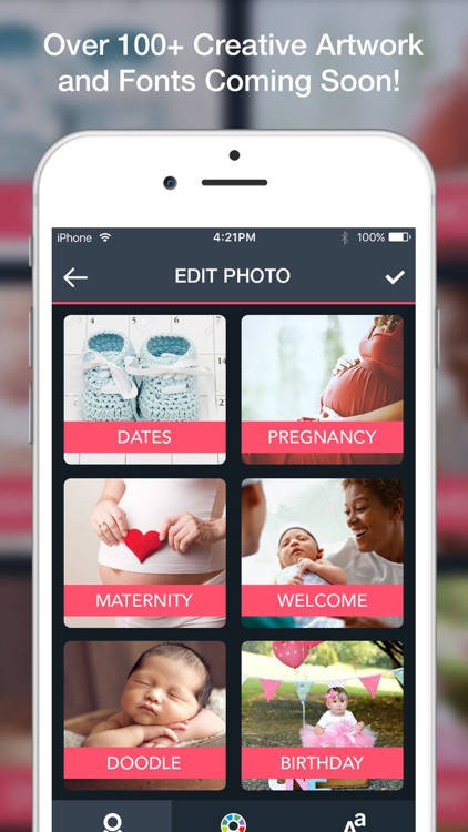 Baby Art-Baby Monthly Pictures screenshot-3