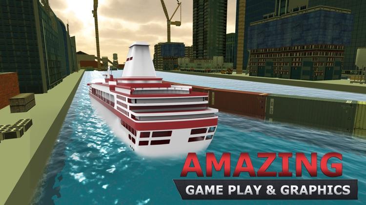 Cruise Ship Parking Simulator & Boat Sailing Game screenshot-3