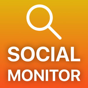 Social Monitor – track your social interactions Social Networking app
