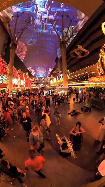 VR Las Vegas Fremont Street Virtual Reality 360