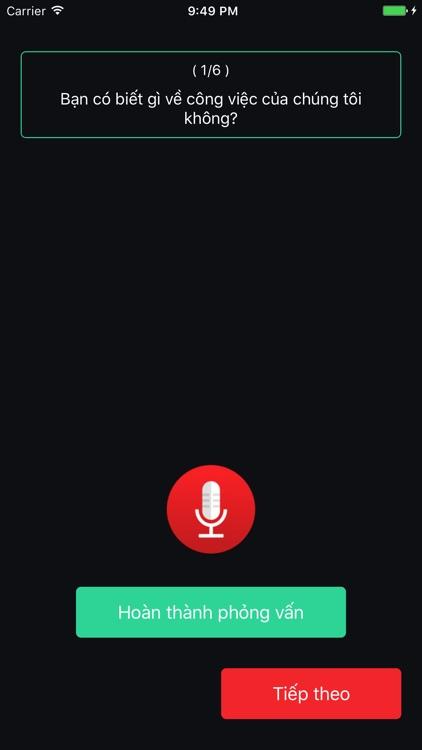 Audio Survey