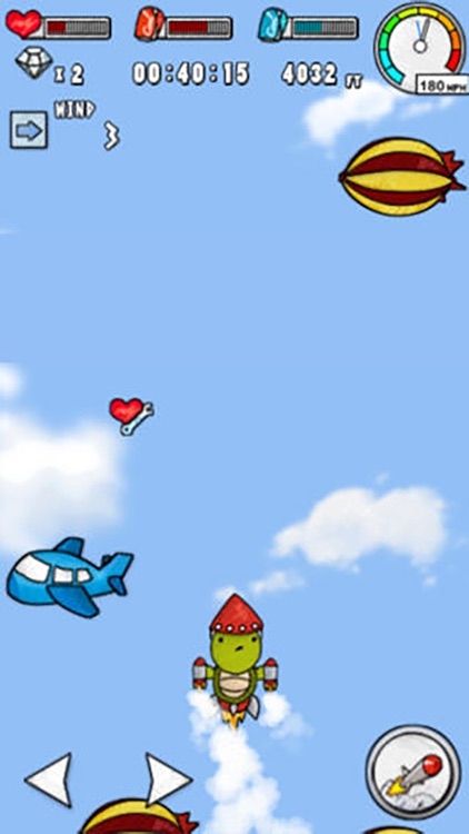 Turtle Fly -  Into Space screenshot-4