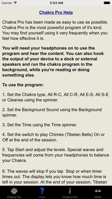 Screenshot #10 for Chakra Pro