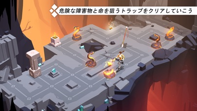 Lara Croft GO screenshot1
