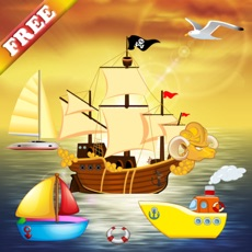 Activities of Boat Puzzles for Toddlers and Kids - FREE