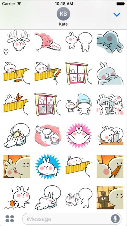 Cool Rabbit and Friends screenshot-3