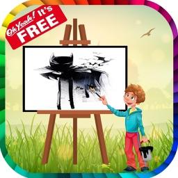 Coloring Book For Batman Free Games Kids Paint