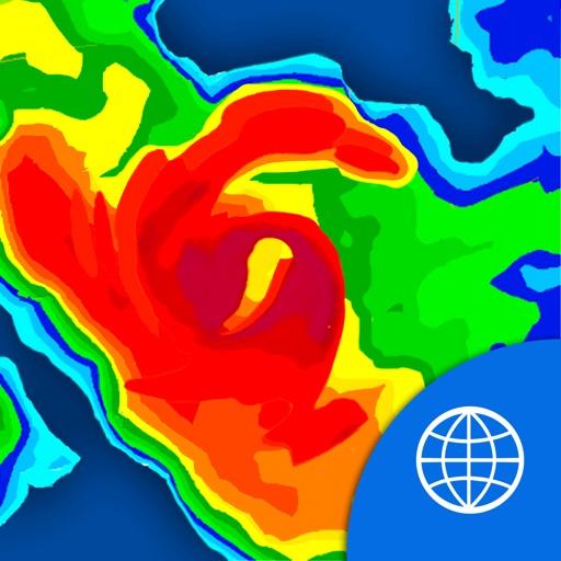 NOAA World Radar Free - Weather, Rain & Hurricanes