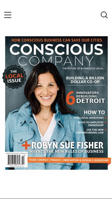 download Conscious Company Magazine apps 0