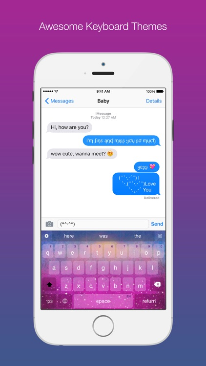 Typiora Keyboard: Cool Themes & Sounds & Fonts