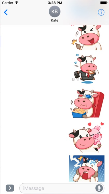 Milk Cow Sticker screenshot-1