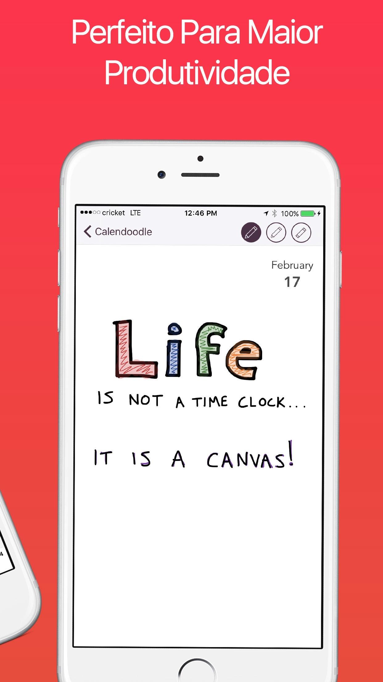 Screenshot do app Desenhe A Agenda