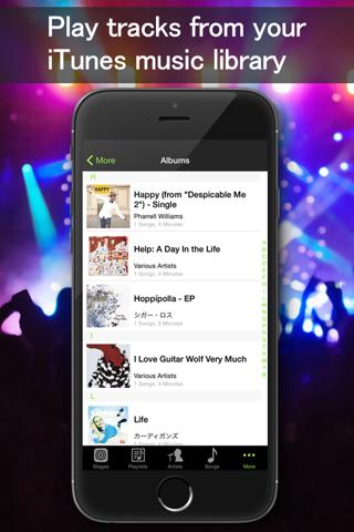 Music Live - Music player&Live concert simulator screenshot 3