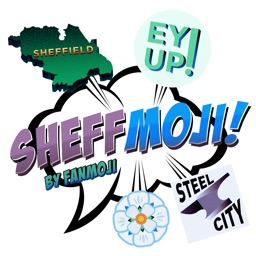 Sheffmoji - Sheffield emoji-stickers!