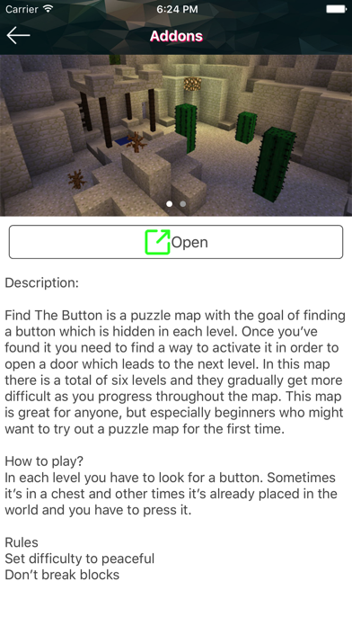 Fantasy Maps&Addons for Minecraft PE +