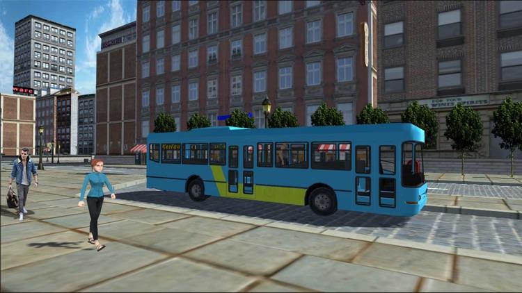 Metro City Bus Public Transport Driving Simulation