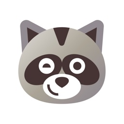 Raccoon Moji Stickers