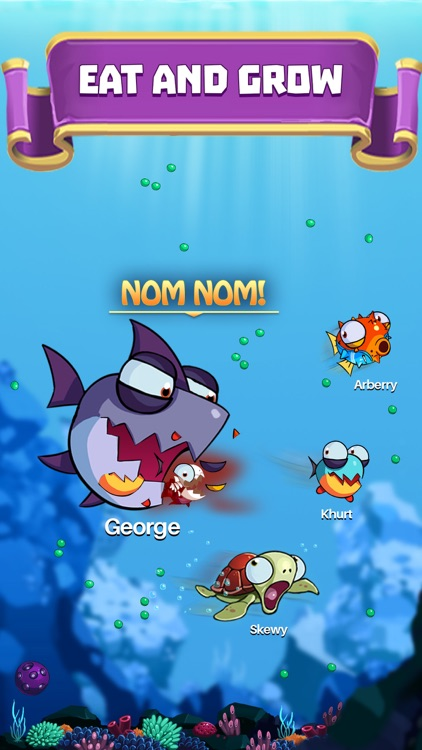 EatMe.io:  Hungry Fish Attack! screenshot-0