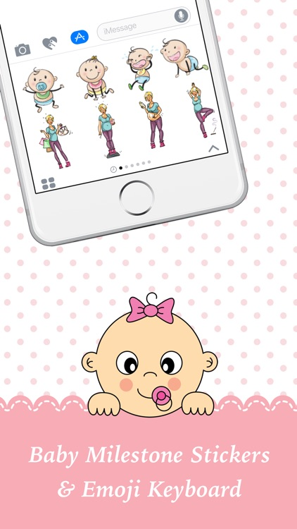 BabyMoji - Stickers for Baby Milestone Pictures