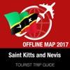 圣基茨和尼维斯 旅游指南+离线地图