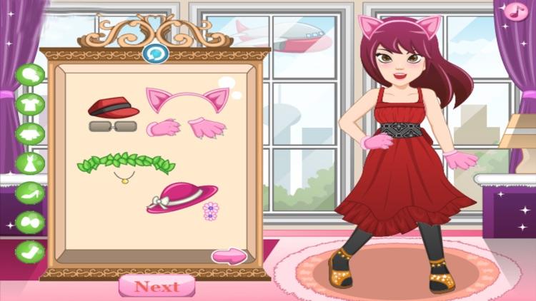 Girls Love World - Dressup Fun Girls Game screenshot-3