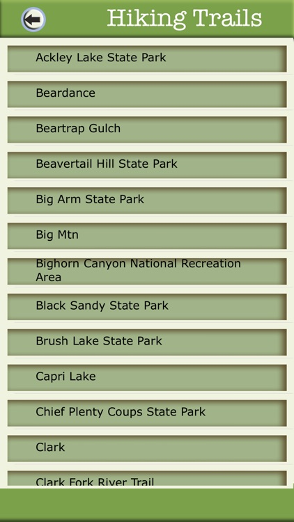 Montana Camping & Hiking Trails screenshot-2