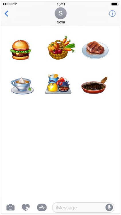 Cooking Fever Stickers - Mega Pack screenshot-3
