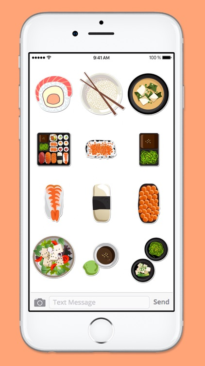 Time For Sushi Sticker Pack screenshot-4