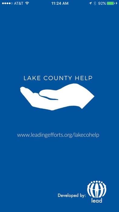 点击获取Lake County Help