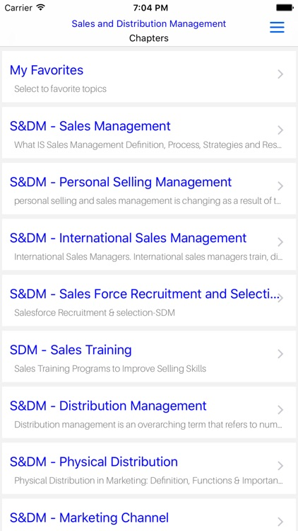 MBA SDM - Sales and Distribution Management screenshot-4