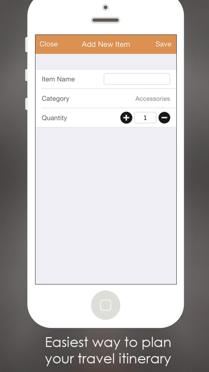Packing list maker creator app