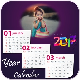 Calendar Photo Frames 2017