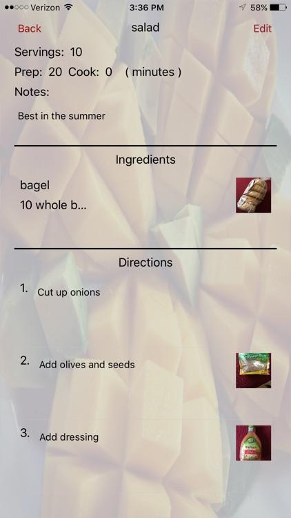 Simple Recipe Cookbook screenshot-3
