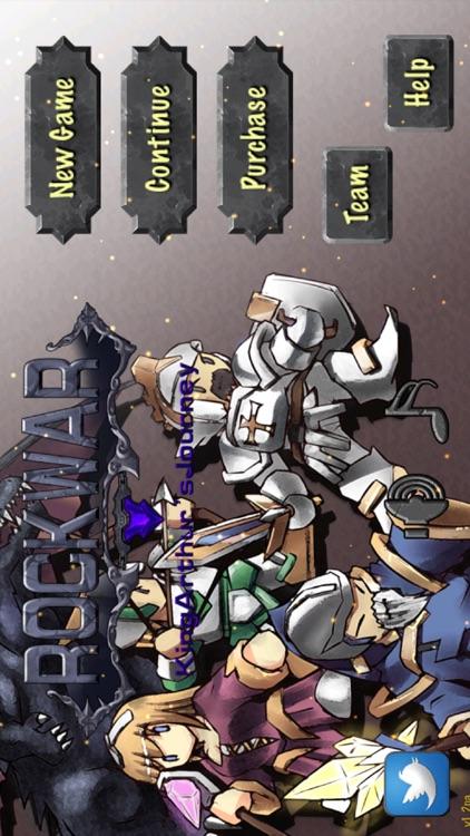 RockWar-King Arthur's journey screenshot-4