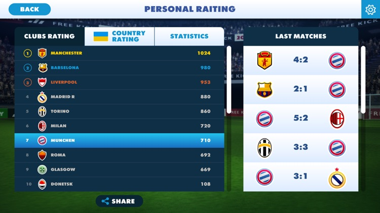 Champions Free Kick League 17 screenshot-4
