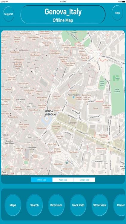 Genova Italy Offline City Maps Navigation