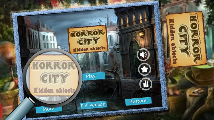 Horror City : Its Hidden Time