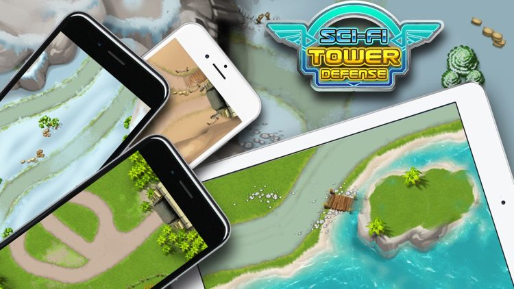 SciFi Tower Defense