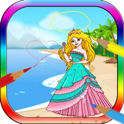 Boyama Kitabı Prenses Peri Dünyanın Güzel Oyunları App Storeda