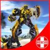机器人小队 - 海滩救援:飞行机器人英雄