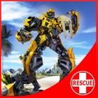 Robot Squad - Spiaggia di salvataggio: Flying Robo icon