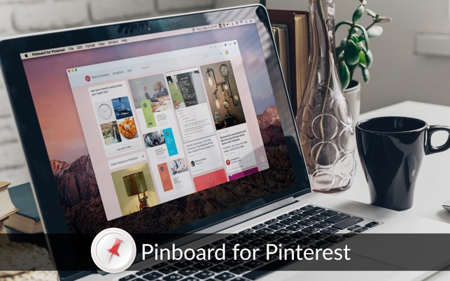 Pinboard for Pinterest on the MacAppStore