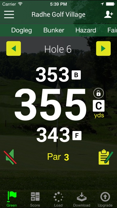 download Free Golf GPS  - FreeCaddie apps 4
