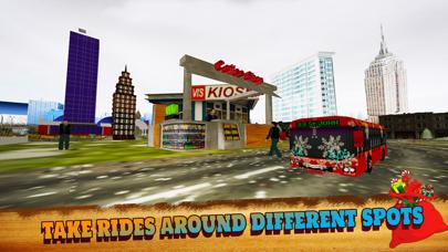 Offroad Hill Snow Bus Driver Parking Simulator 3D screenshot three