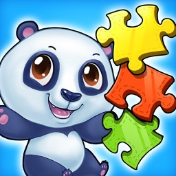 Wild Animal Puzzle Kids Game